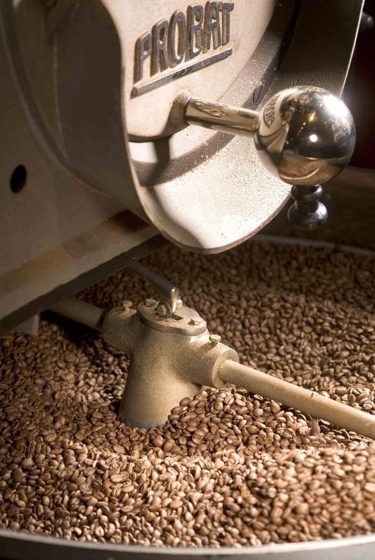 Kaffee rösten » Kaffeebohnen aus der Kaffeerösterei